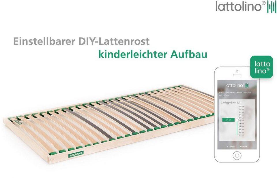 Lattenrost Selecta Lattolino Lattenrost Selecta 27 Leisten Kopfteil Nicht Verstellbar