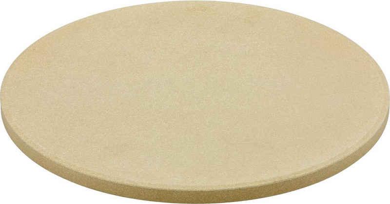 RÖSLE Pizzastein »VARIO«, Schamottstein, zum Backen von Pizza, Flammkuchen oder Brot, für Grill und Backofen, Ø 30 cm