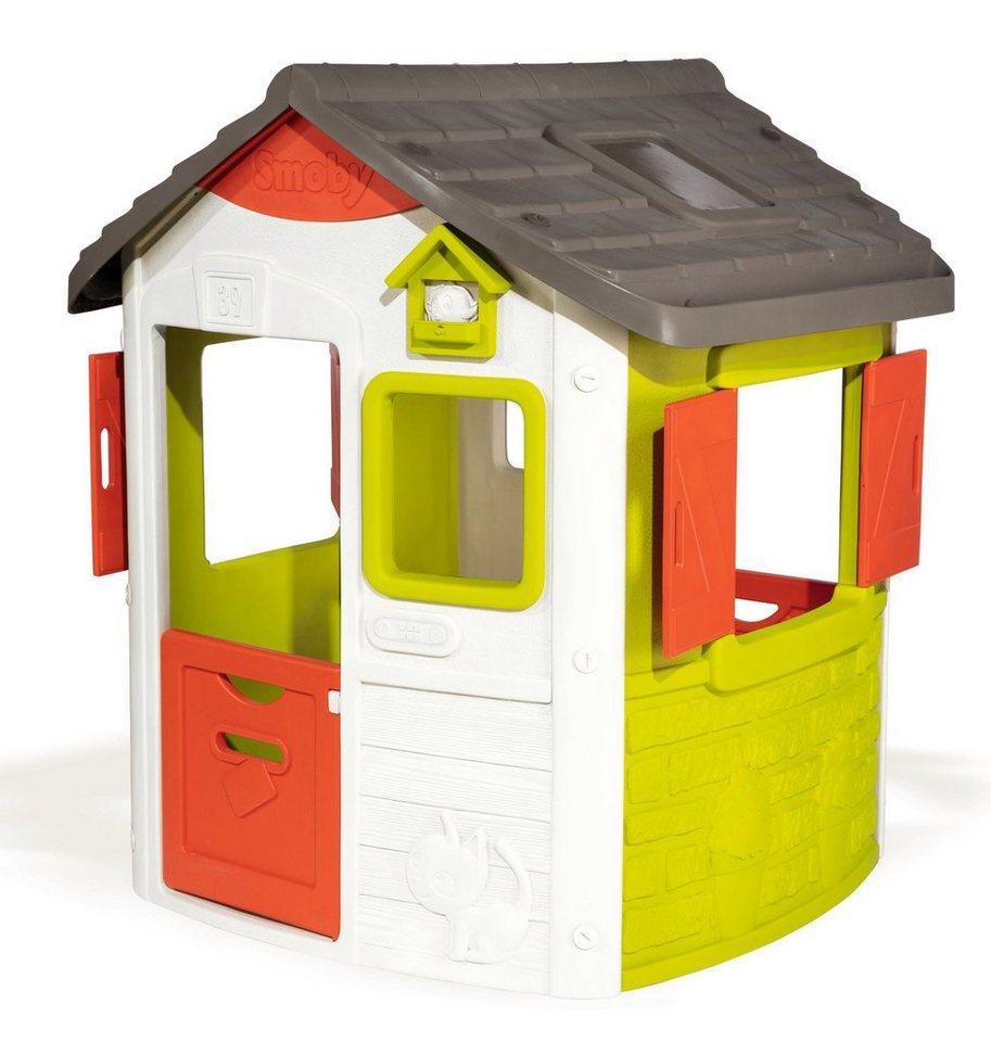 Smoby Spielhaus Neo Jura Lodge Langlebiger Kunststoff