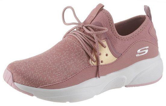 Skechers »Meridian« Slip-On Sneaker mit aufgesetzter Schnürung