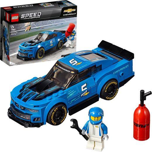 LEGO® Konstruktionsspielsteine »Rennwagen Chevrolet Camaro ZL1 (75891), LEGO® Speed Champions«, (198 St)
