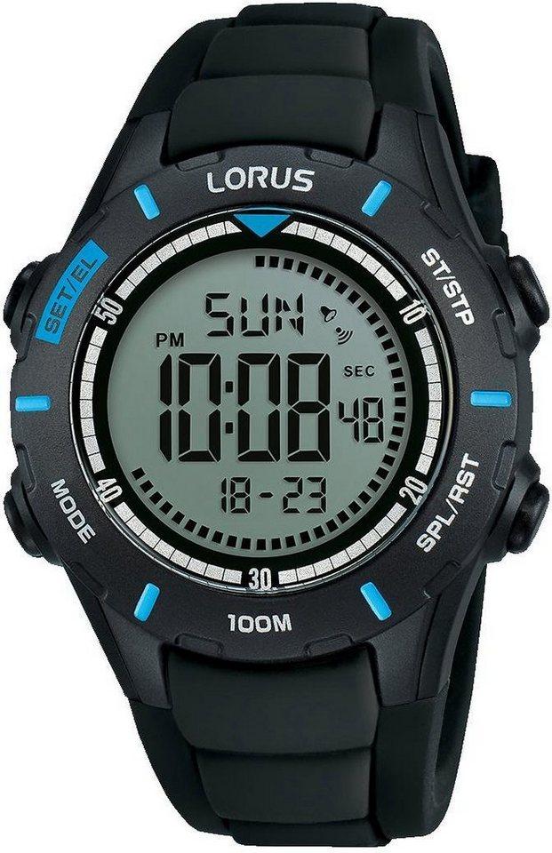 LORUS Digitaluhr »R2367MX9« | Uhren > Digitaluhren | Schwarz | LORUS
