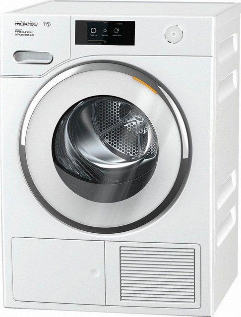 Miele Wärmepumpentrockner T1 White Edition TWR860 WP Eco&Steam WiFi&XL, 9 kg | Bad > Waschmaschinen und Trockner > Wärmepumpentrockner | Weiß | Miele