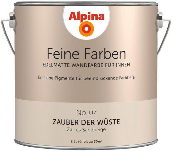 ALPINA Farbe »Alpina Feine Farben Zauber der Wüste«, 2,5 l