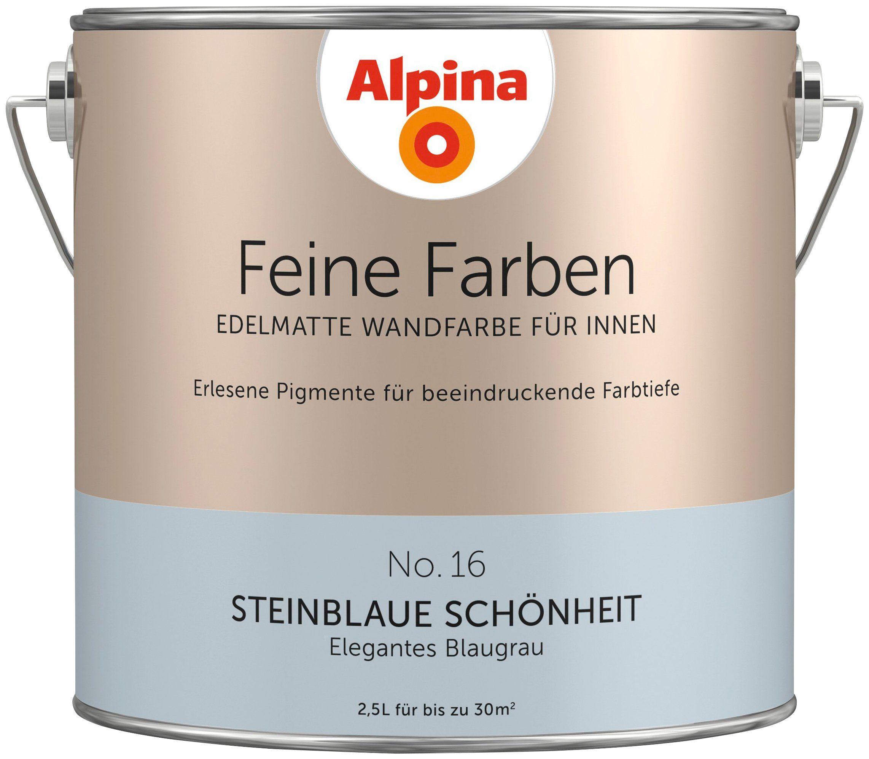 ALPINA Farbe »Alpina Feine Farben Steinblaue Schönheit«, 2,5 l