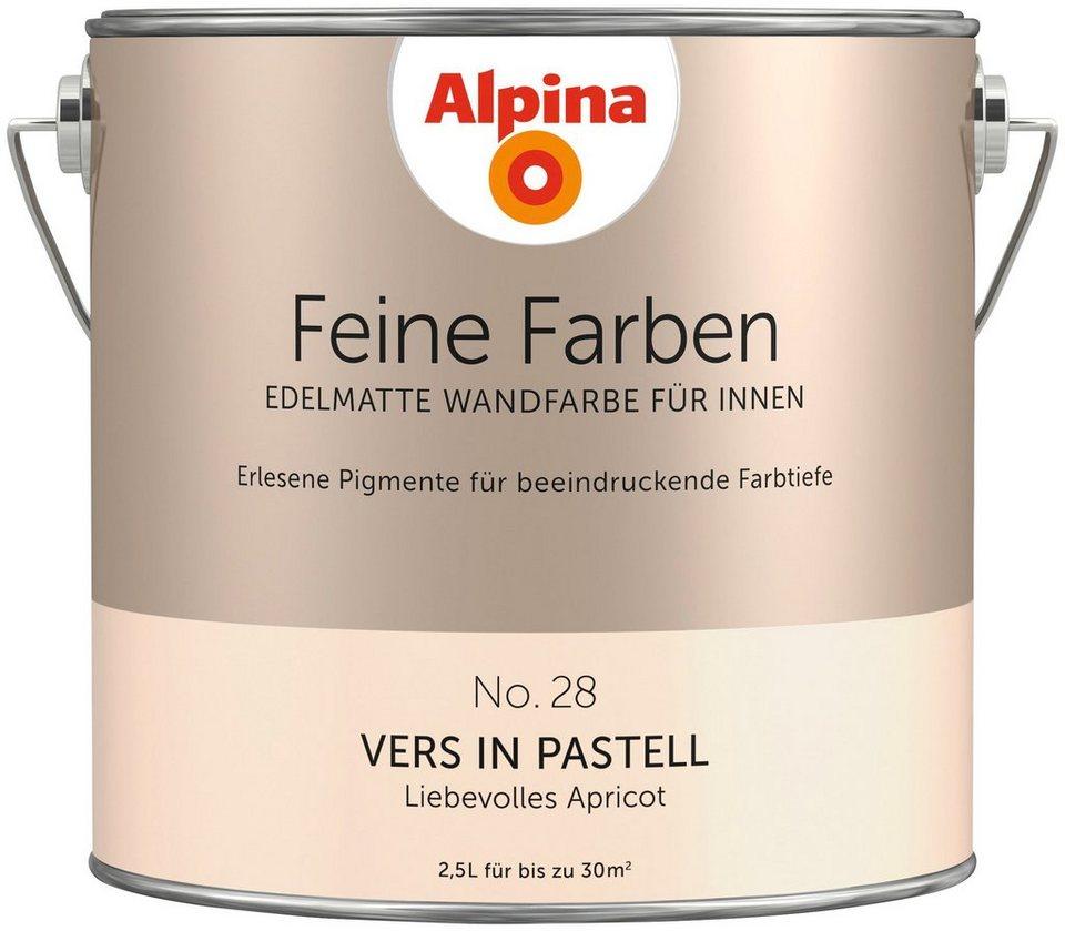 Alpina Farbe Alpina Feine Farben Vers In Pastell 25 L Online