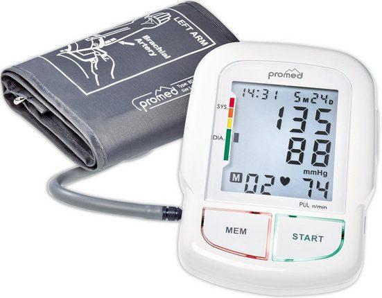 promed Oberarm-Blutdruckmessgerät BDS-700, besonders großes Display