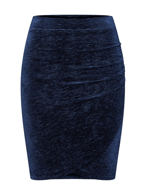Melrose Rock Pencil-Skirt Bleistiftrock Mini Spitze Weiß Gr 32 /& 34