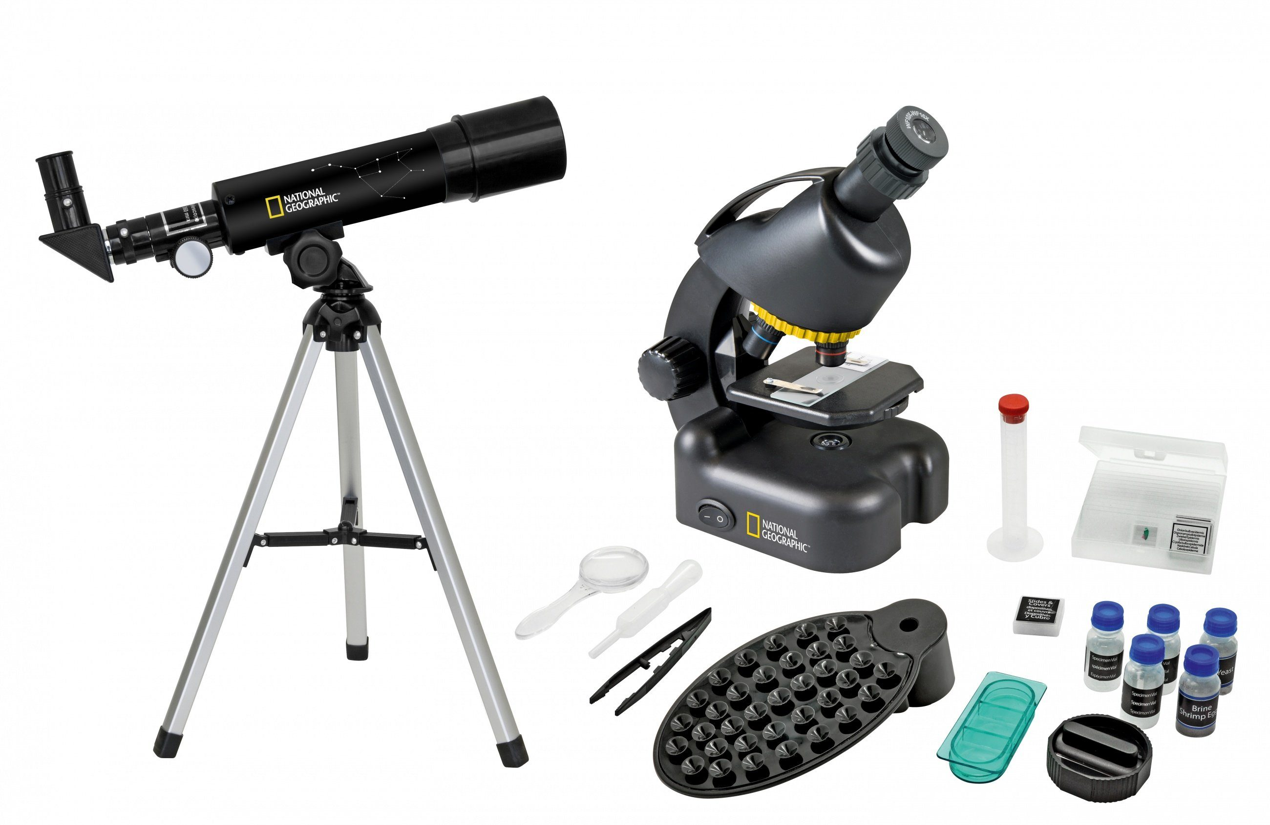 National geographic teleskop und mikroskop kompakt mit