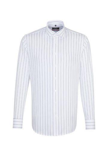 Langarm »modern« Modern kragen Seidensticker Businesshemd Kent Streifen 5Awttq