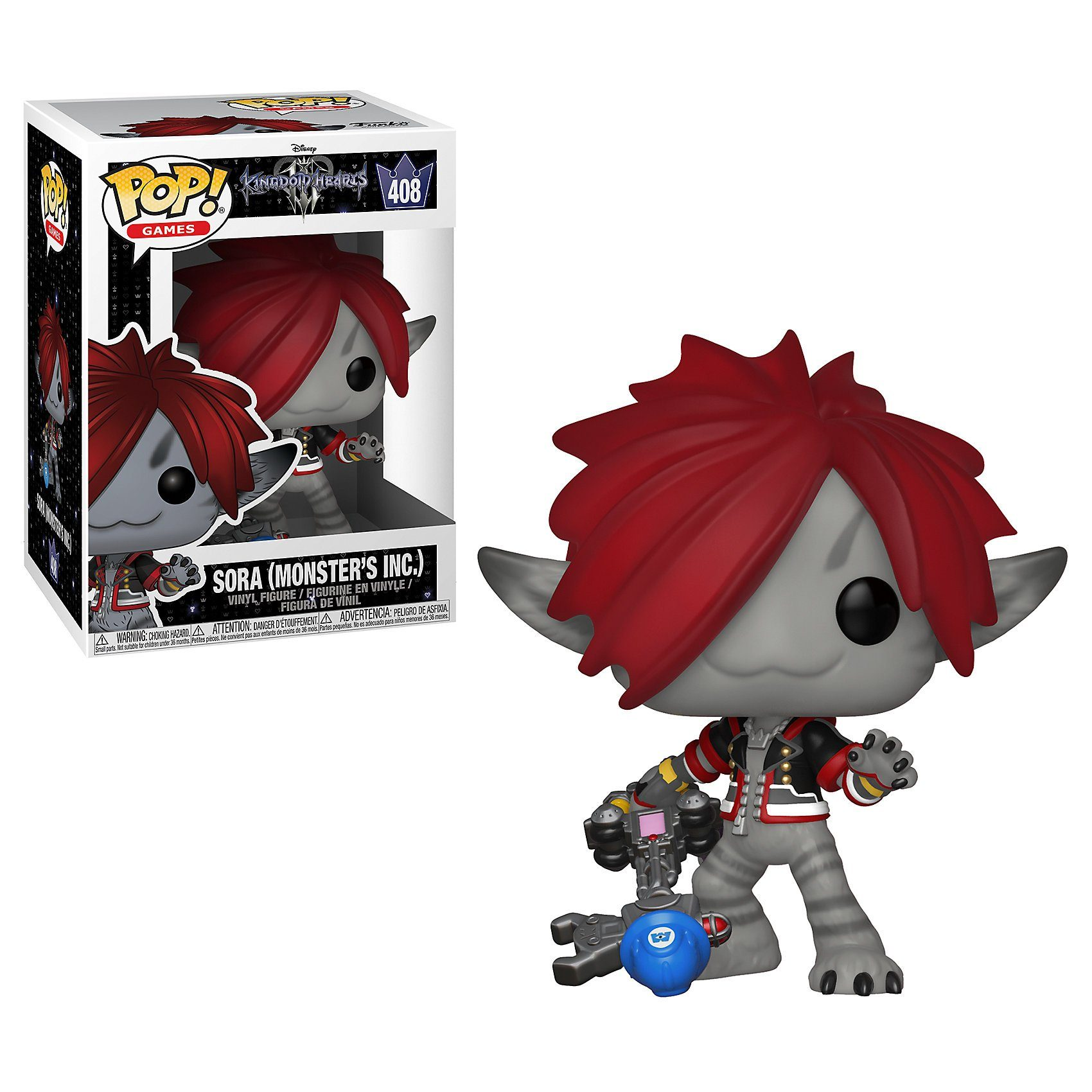 Funko POP! Disney: Kingdom Hearts - Sora (Monster AG)