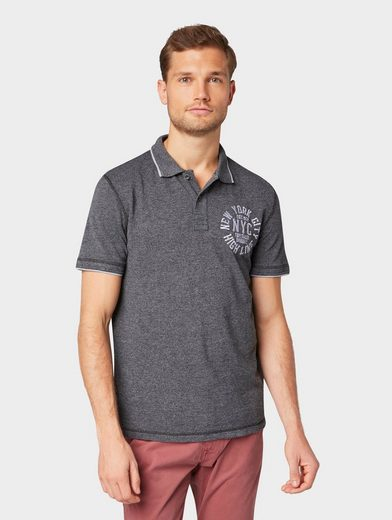 TOM TAILOR Poloshirt »Strukturiertes Poloshirt«