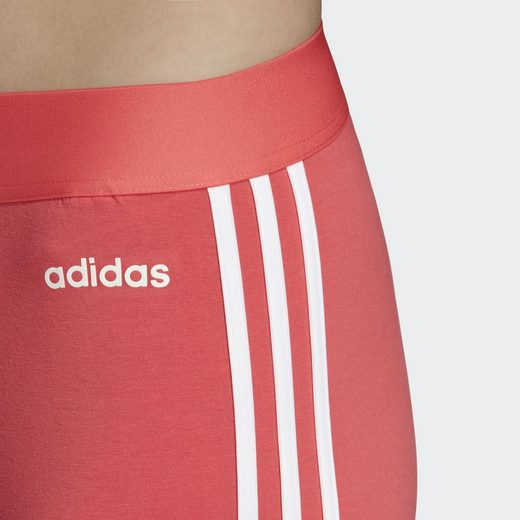 Adidas Performance streifen 3 Tight« Pink Funktionstights »essentials 13KJlcTF