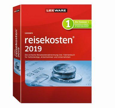 LEXWARE Reisekosten 2019 Windows Jahresversion (365-Tage) »Standard, Vollversion«