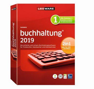 LEXWARE Buchhaltung 2019 Jahresversion (365-Tage) »die Einfache und schnelle Buchhaltungssoftware«