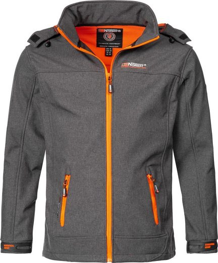 Geographical Norway Softshelljacke »Temix« sportliche Outdoorjacke mit Kapuze