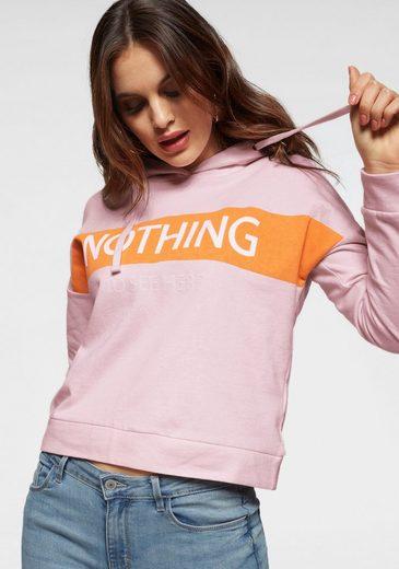 Only Sweatshirt »ONLSOUND« mit weichem Griff und coolem Frontprint