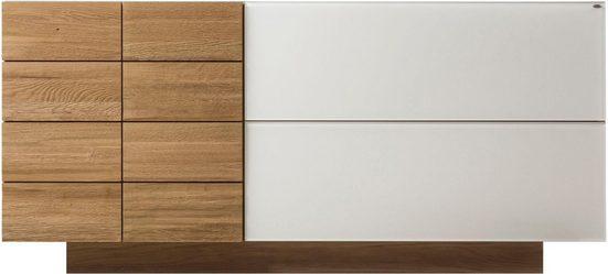 VOGLAUER Sideboard »V-MONTANA«, mit 1 Tür und 2 Schubladen, Breite 160 cm