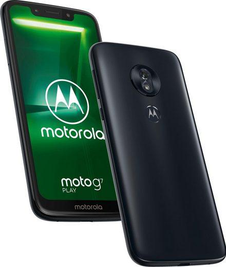 Motorola moto G7 play Smartphone (14,45 cm/5,7 Zoll, 32 GB Speicherplatz, 13 MP Kamera, Android-Upgrade verfügbar)