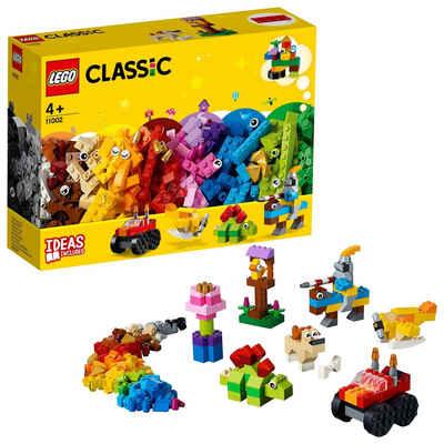 LEGO® Konstruktionsspielsteine »Bausteine - Starter Set (11002), LEGO® Classic«, (300 St), Made in Europe