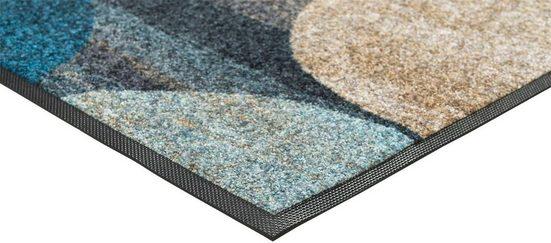 Teppich »Galaxia«  wash+dry by Kleen-Tex  rechteckig  Höhe 7 mm  waschbar