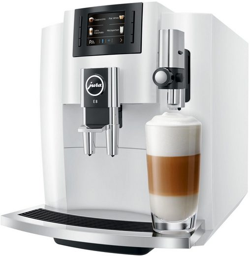JURA Kaffeevollautomat E8, Wireless ready und kompatibel mit JURA App J.O.E.® (Smart Connect optional erhältlich)