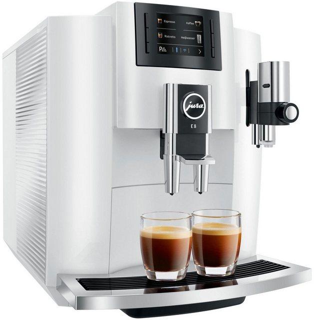 JURA Kaffeevollautomat E8, Wireless ready und kompatibel mit JURA App J.O.E.® (Smart Connect optional erhältlich) | Küche und Esszimmer > Kaffee und Tee > Kaffeevollautomaten | Jura