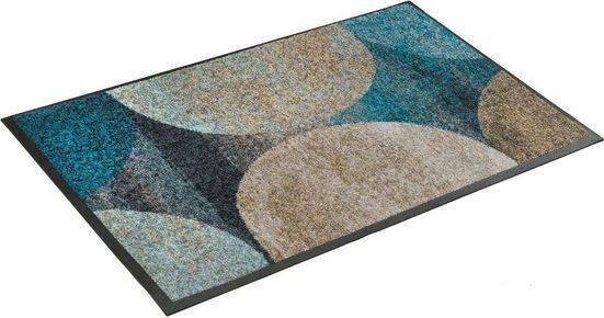 Fußmatte »Galaxia«, wash+dry by Kleen-Tex, rechteckig, Höhe 7 mm, waschbar