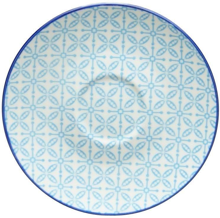 CreaTable Untertasse »Mediterran«, (4 Stück), Ø 15 cm, Steinzeug