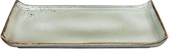 CreaTable Servierplatte »NATURE COLLECTION«, Steinzeug, (1-tlg)