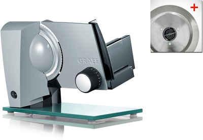 Graef Allesschneider Sliced Kitchen S12120OT TWIN, 170 W, inkl. Schinkenmesser mit glatter Schneide im Wert von 24,99€ UVP