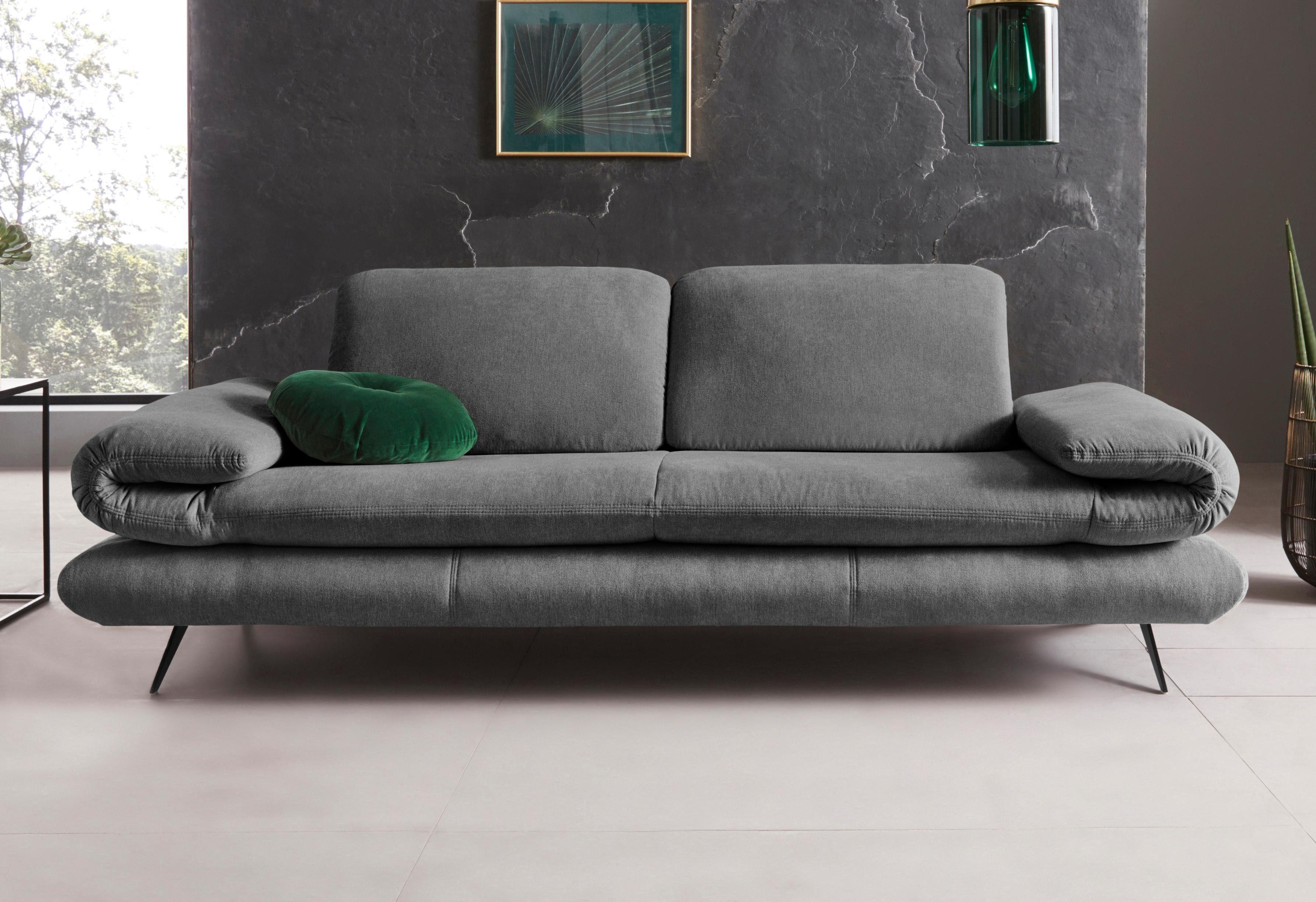 Places of Style 2-Sitzer »Milano«, Sitzbreite je Sitz 75 cm, wahlweise mit Rücken- + Armfunktion