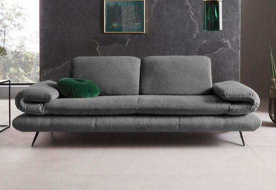Places of Style 2-Sitzer »Milano«, Sitzbreite je Sitz 75 cm, wahlweise mit Rücken- & Armfunktion