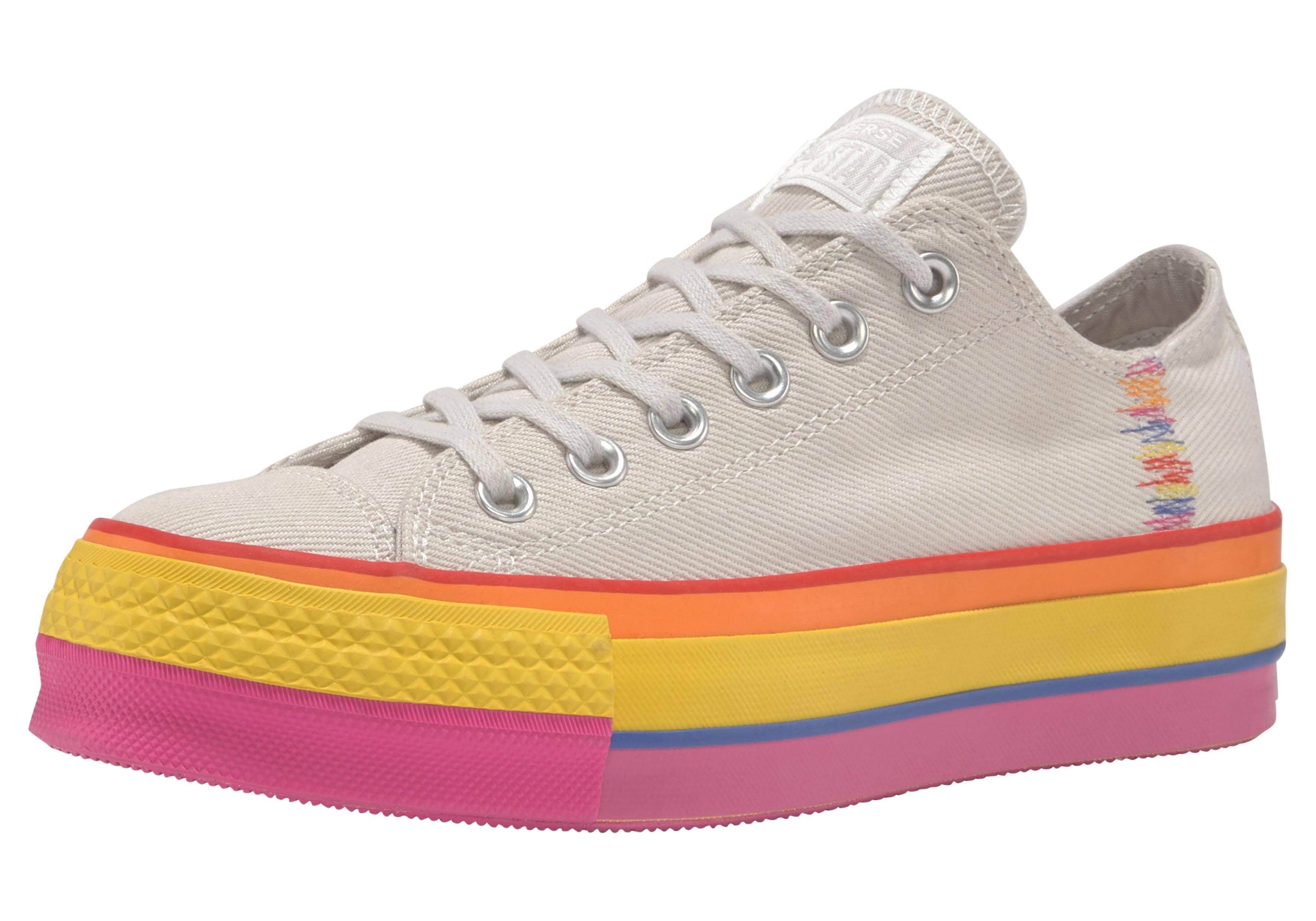 Converse »Chuck Taylor All Star Lift Rainbow (PRIDE Pack)« Plateausneaker online kaufen | OTTO