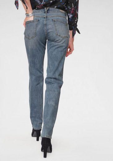s.Oliver Straight-Jeans mit Knopfleiste