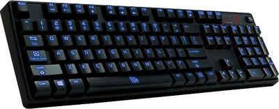 TT Esports »Poseidon Z Illuminated brown switch« Gaming-Tastatur
