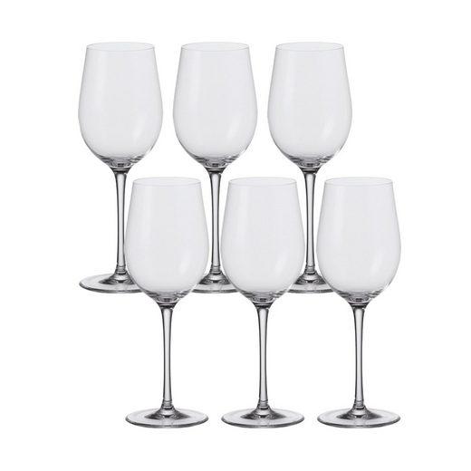 LEONARDO Weißweinglas »Weißwein-Glas, 6er-Set Ciao+«