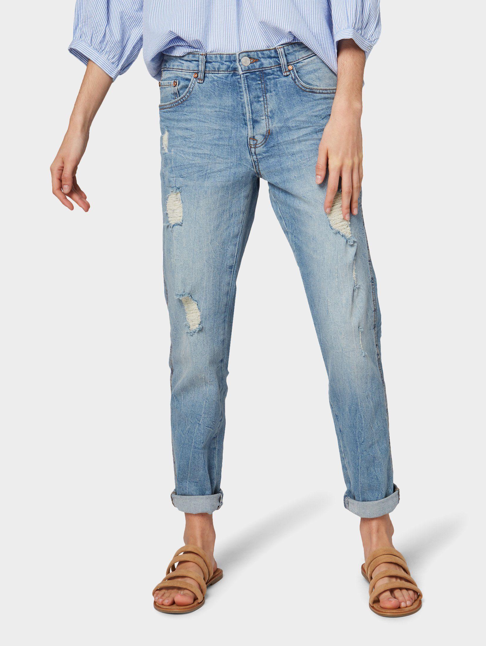 TOM TAILOR Denim Boyfriend Jeans »Live Boyfriend Jeans« online kaufen | OTTO