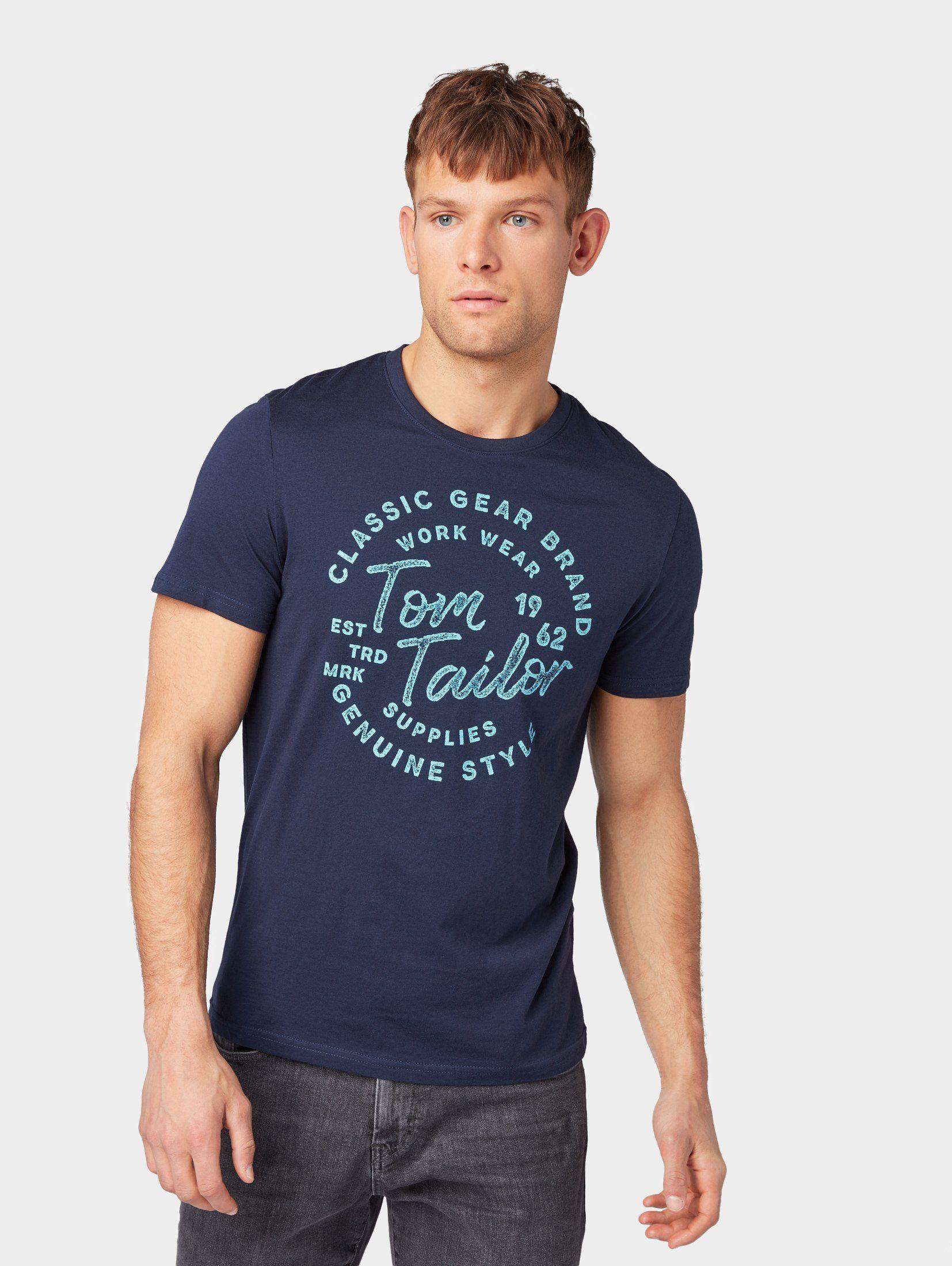TOM TAILOR T-Shirt »T-Shirt mit Print«
