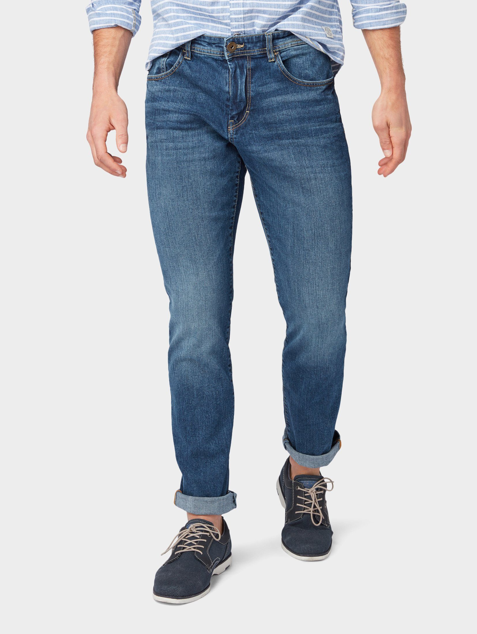 TOM TAILOR Slim fit Jeans »Josh Regular Slim Jeans« online kaufen | OTTO