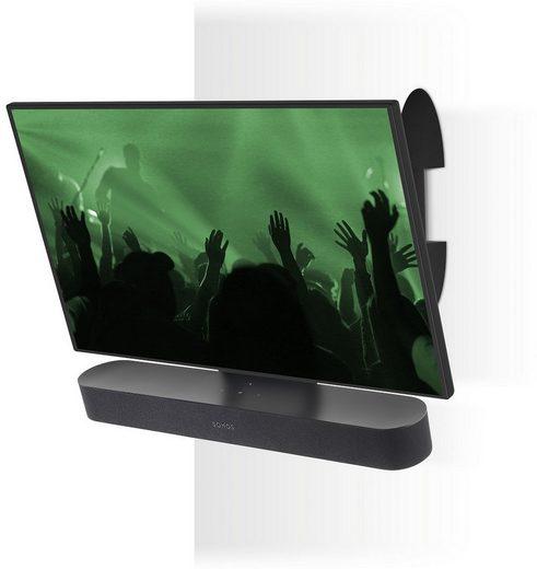 FLEXSON TV-Wandhalterung »Halt für TV und Sonos Beam«