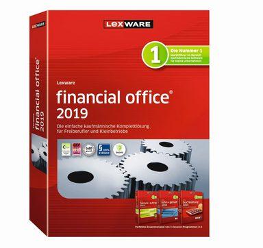 LEXWARE Lexware financial office 2019 Jahresversion (365-Tage) »Die einfache Unternehmenssoftware«