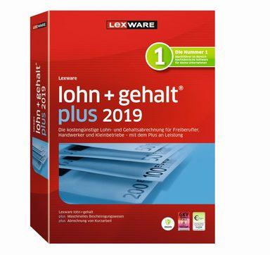 LEXWARE Lexware lohn+gehalt plus 2019 Jahresversion »Die einfache Lohn- und Gehaltsabrechnung«