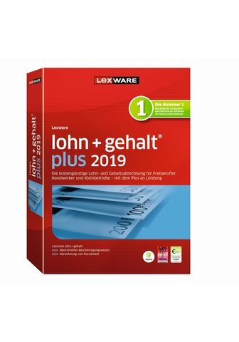 LEXWARE Lohn+gehalt plus 2019 Jahresversion »D...