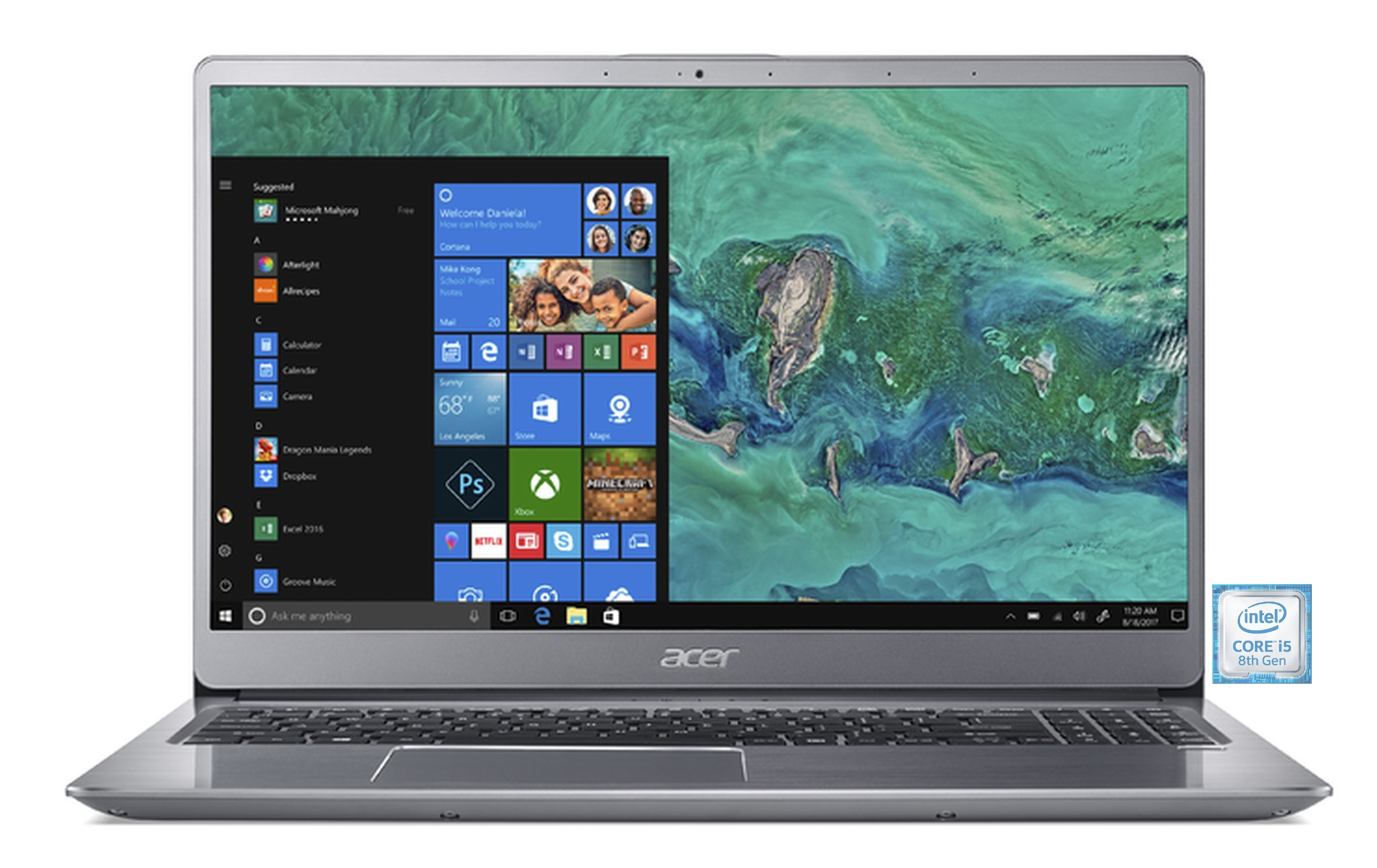"ACER Swift 3 SF315-52-58HG Notebook »39,62 cm(15,6"")Intel Core i5, 256 GB,8 GB«"