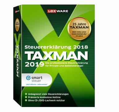 LEXWARE TAXMAN 2019 »Die Steuersoftware, die für jeden passt!«