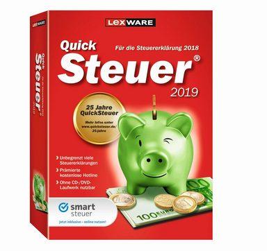 LEXWARE QuickSteuer 2019 »Für die Einfache und schnelle Steuererklärung«
