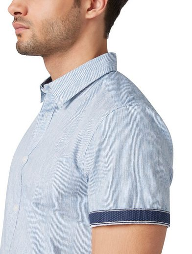 Tom »gemustertes Hemd« Tom Kurzarmhemd Hemd« Kurzarmhemd »gemustertes Tailor Tailor TzwrFqAxT