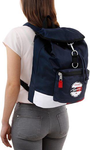 Mit Backpack Heritage Corp« Viel »tju Cityrucksack Stauraum Jeans Tommy wYxIqvUn