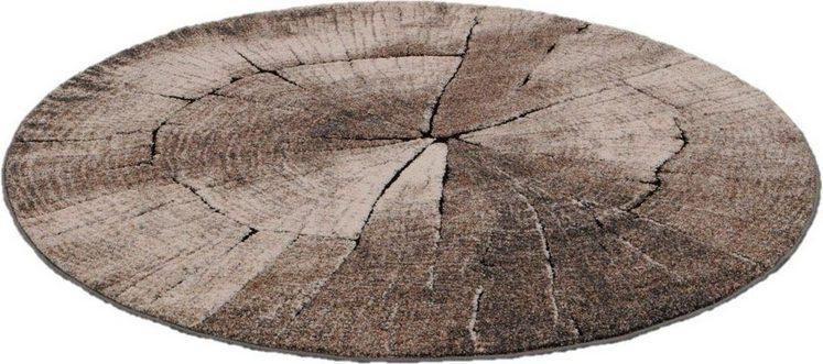 Teppich »Ibiza 605«, merinos, rund, Höhe 13 mm